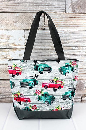NGIL From The Farm with Gray Trim Tote Bag