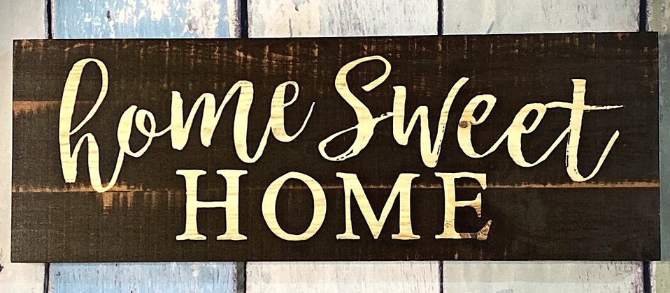 Home Sweet Home Pallet Sign