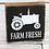 Thumbnail: Farm Fresh Wood Box Sign