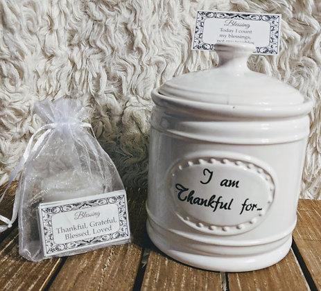 I Am Thankful For... Jar