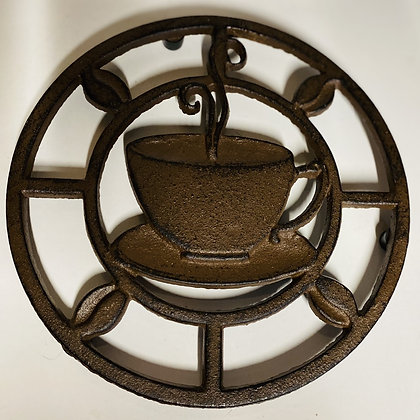 Iron Coffee Cup Trivet