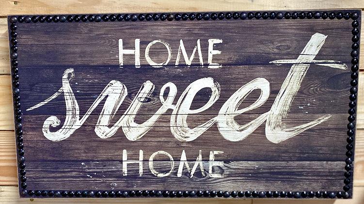 Home Sweet Home Wood Box Sign