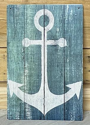 Anchor Tin Sign