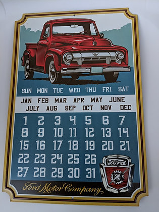 Ford Calendar Sign