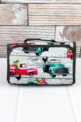 NGIL From The Farm Roll Up Cosmetic Bag