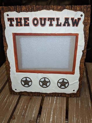 4x6 The Outlaw Western Cowboy Picture Frame