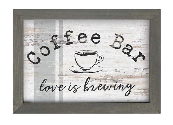 COFFEE BAR FRAMED ART