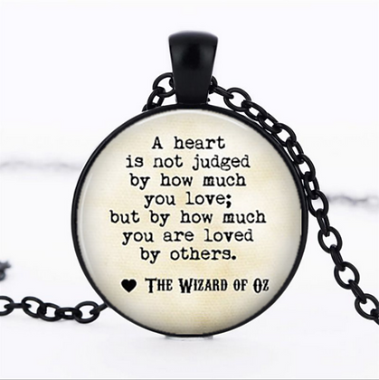 Wizard of Oz Pendant and Chain