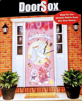 It's A Girl DoorSox Door Cover