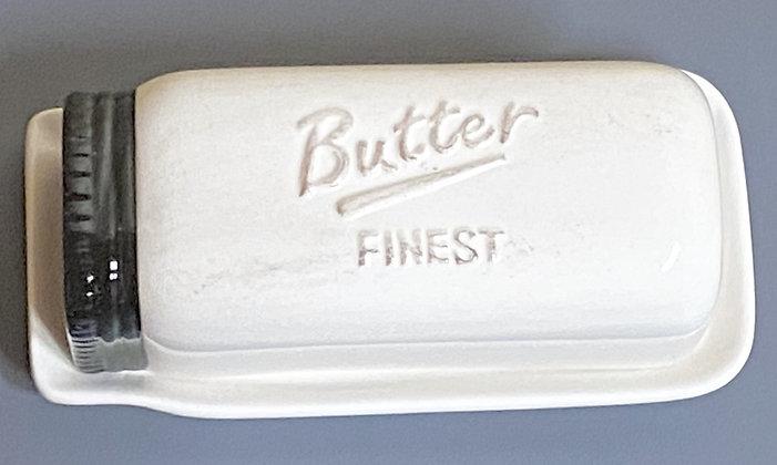Mason Jar Butter Dish