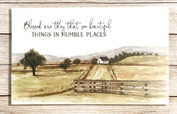 Blessed Are They That See Beautiful Things In Humble Places Pallet Decor