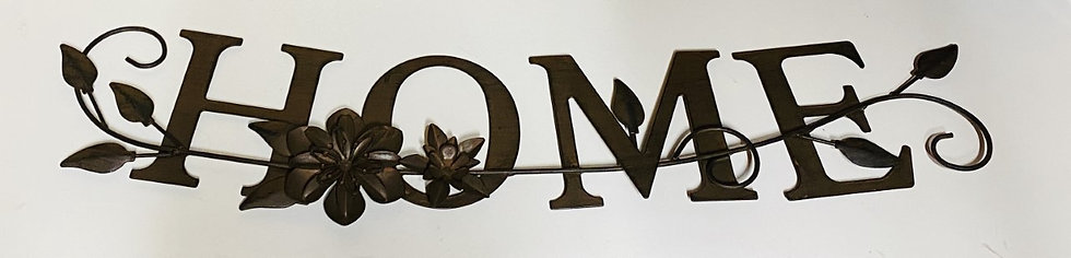 Iron Home Wall Sign