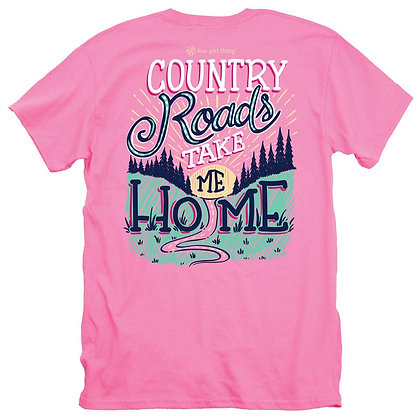 Country Roads Short Sleeved T-Shirt