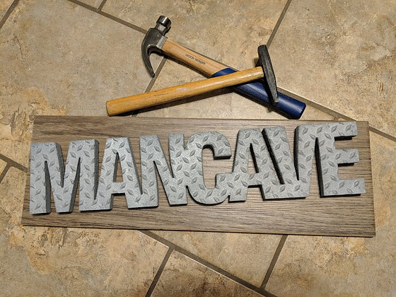 Mancave Wall Sign