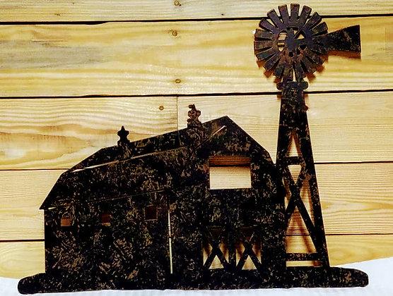 Metal Cut Barn House