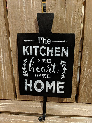 4 x 8 The kitchen is the heart of the home sign
