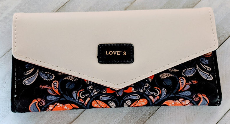Love's Wallets (Black, Pink, and Purple)