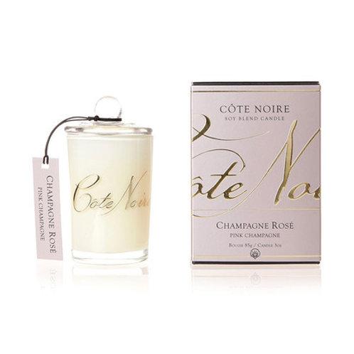 Cote Noire ミニ キャンドル 85g (Pink Champagne)