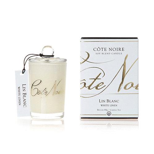 Cote Noire ミニ キャンドル 85g (White Linen)