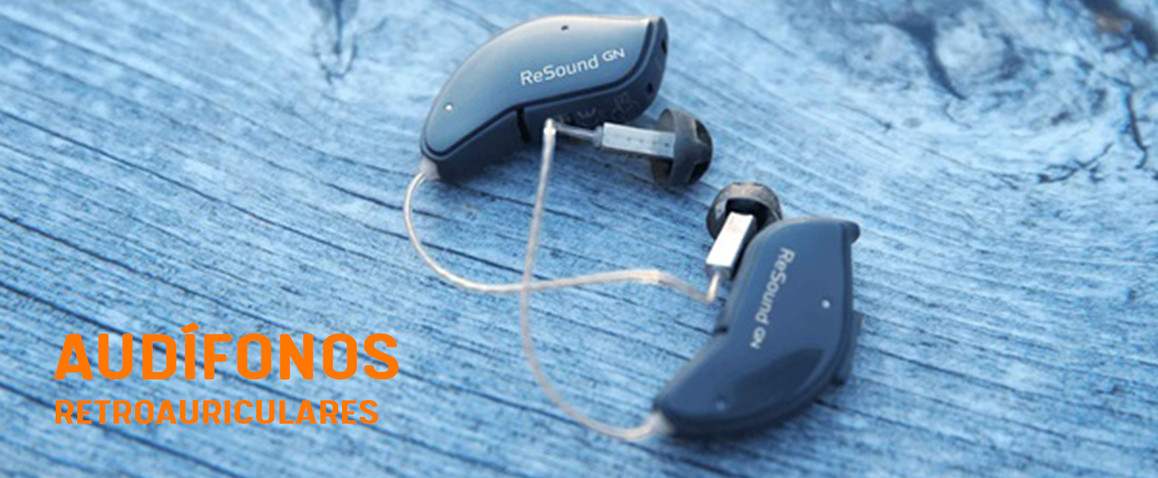 Audífonos retroauriculares