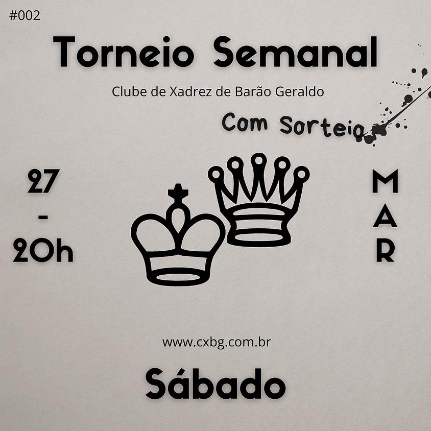 Torneio Semanal - Ed. 2