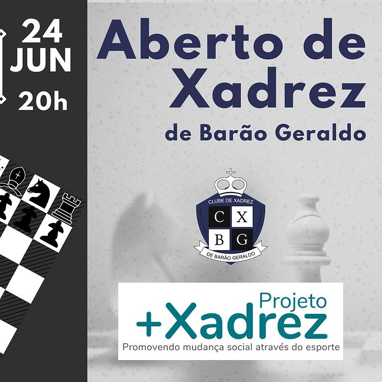 Aberto de Xadrez de Barão Geraldo - Etapa Classificatória