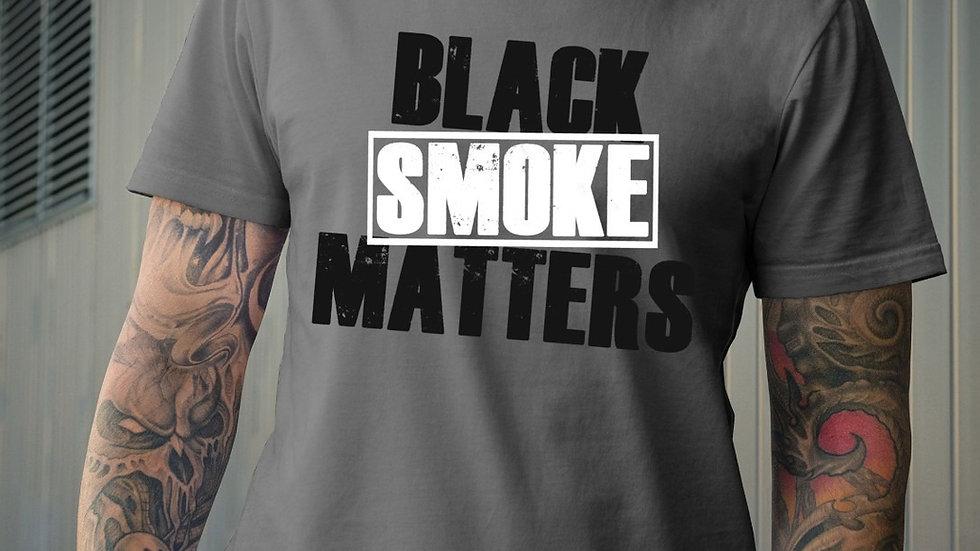 Black smoke matters T-shirt