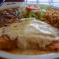 #6 Shrimp Enchiladas Suizas