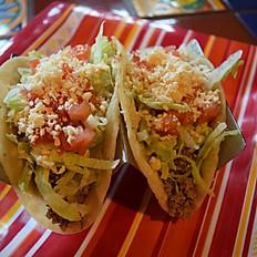 2 Tacos de Beef