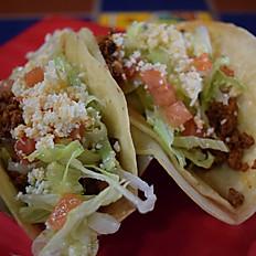 2 Tacos de Chorizo