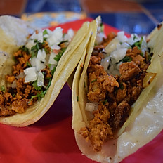 2 Tacos Al Pastor (Pork)