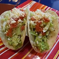 2 Tacos de Guacamole