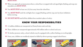 Keep Our Children Safe - Obey School Bus Stopping Law