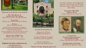 John Ruskin to William Lightfoot Price Celebration 11/6 & 11/7