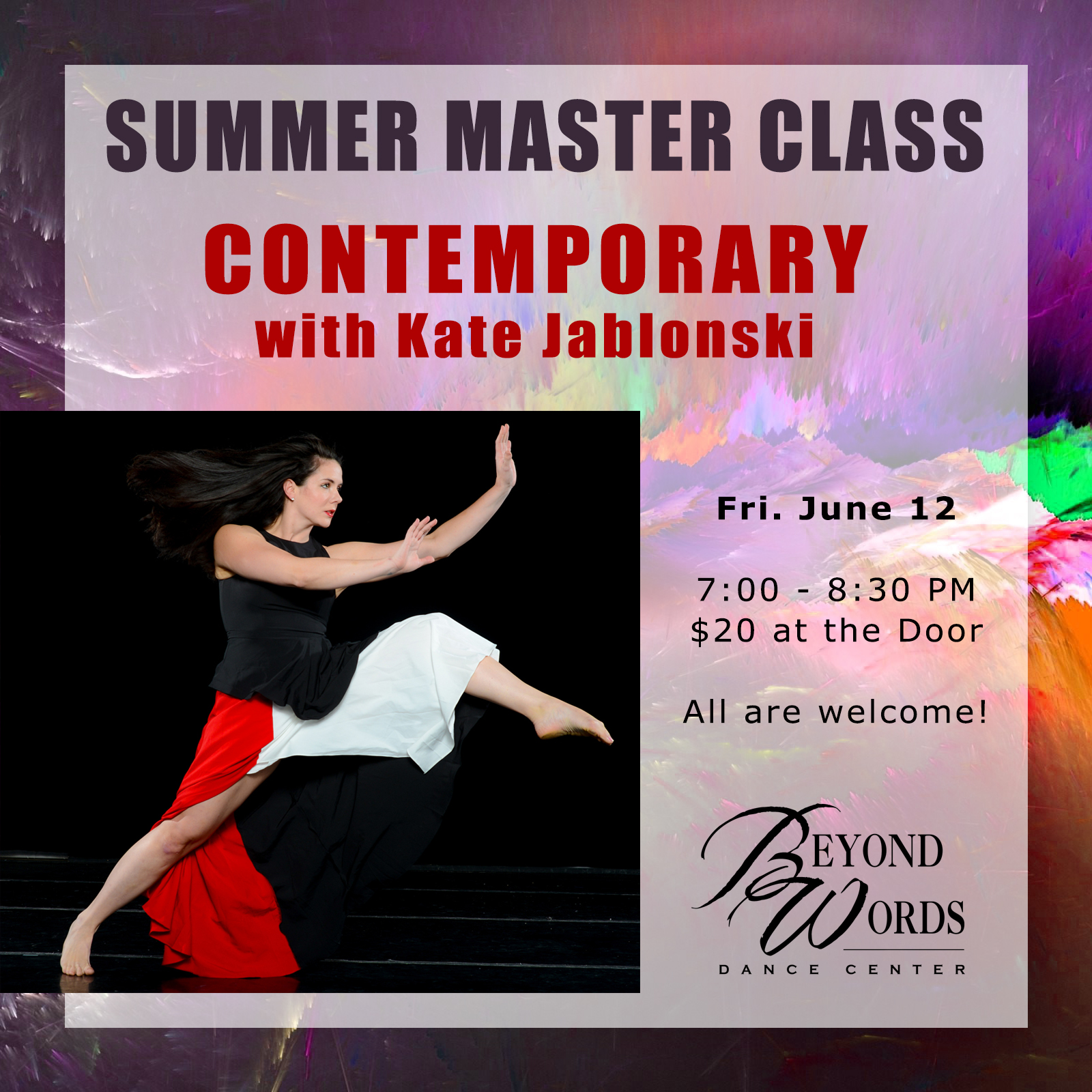 Summer Master Class - Contemporary