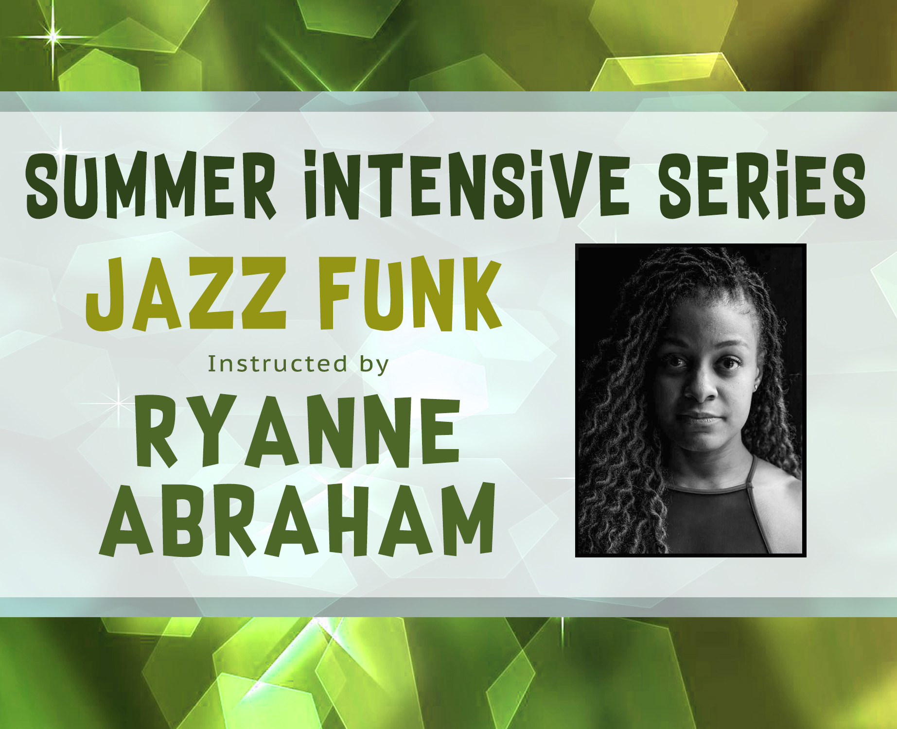 Jazz Funk Intensive Site Banner