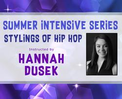 Hip Hop Intensive Site Banner