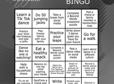 Beyond Words BINGO!