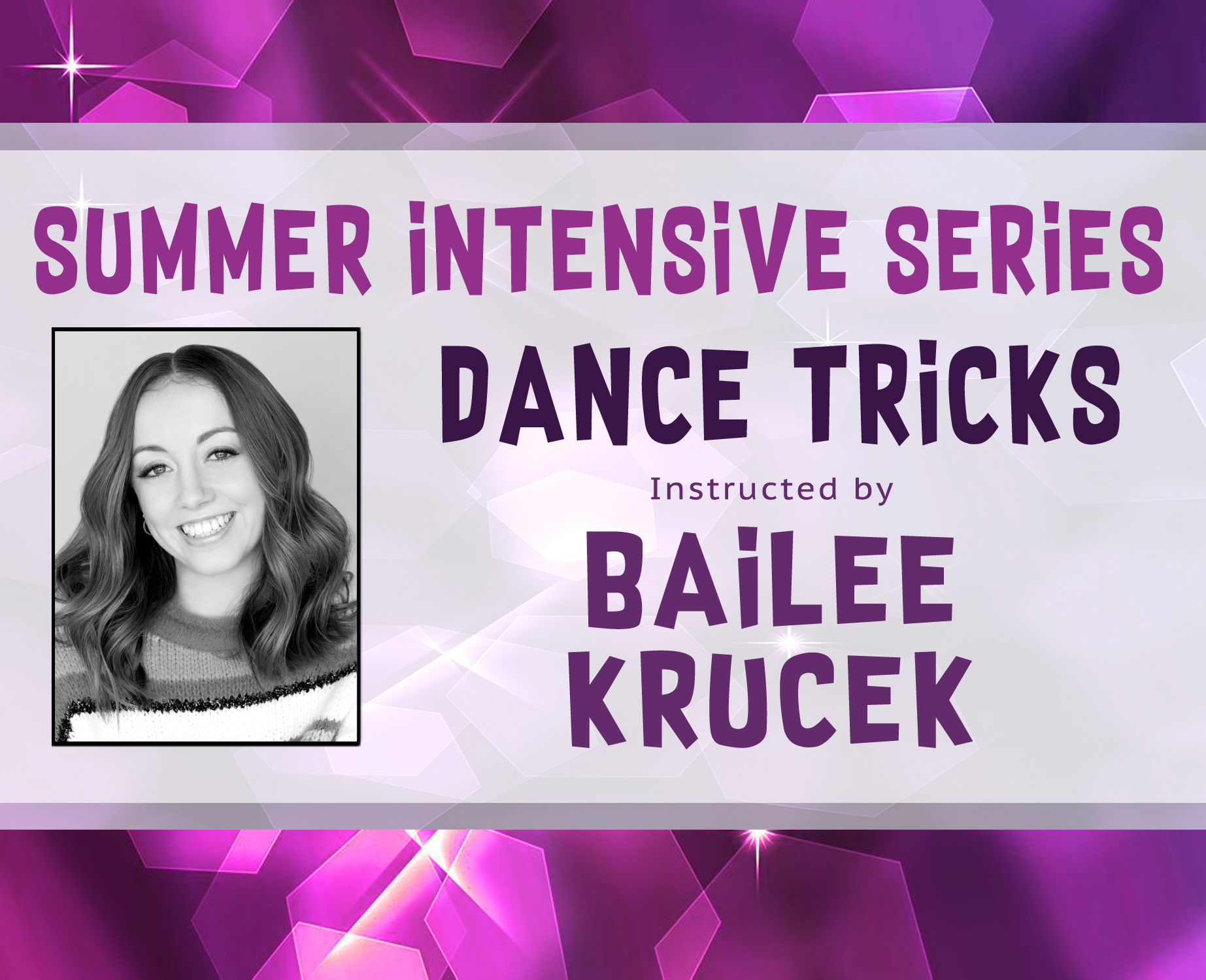 Dance Tricks Intensive Site Banner
