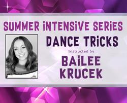 Dance Tricks Intensive Site Banner