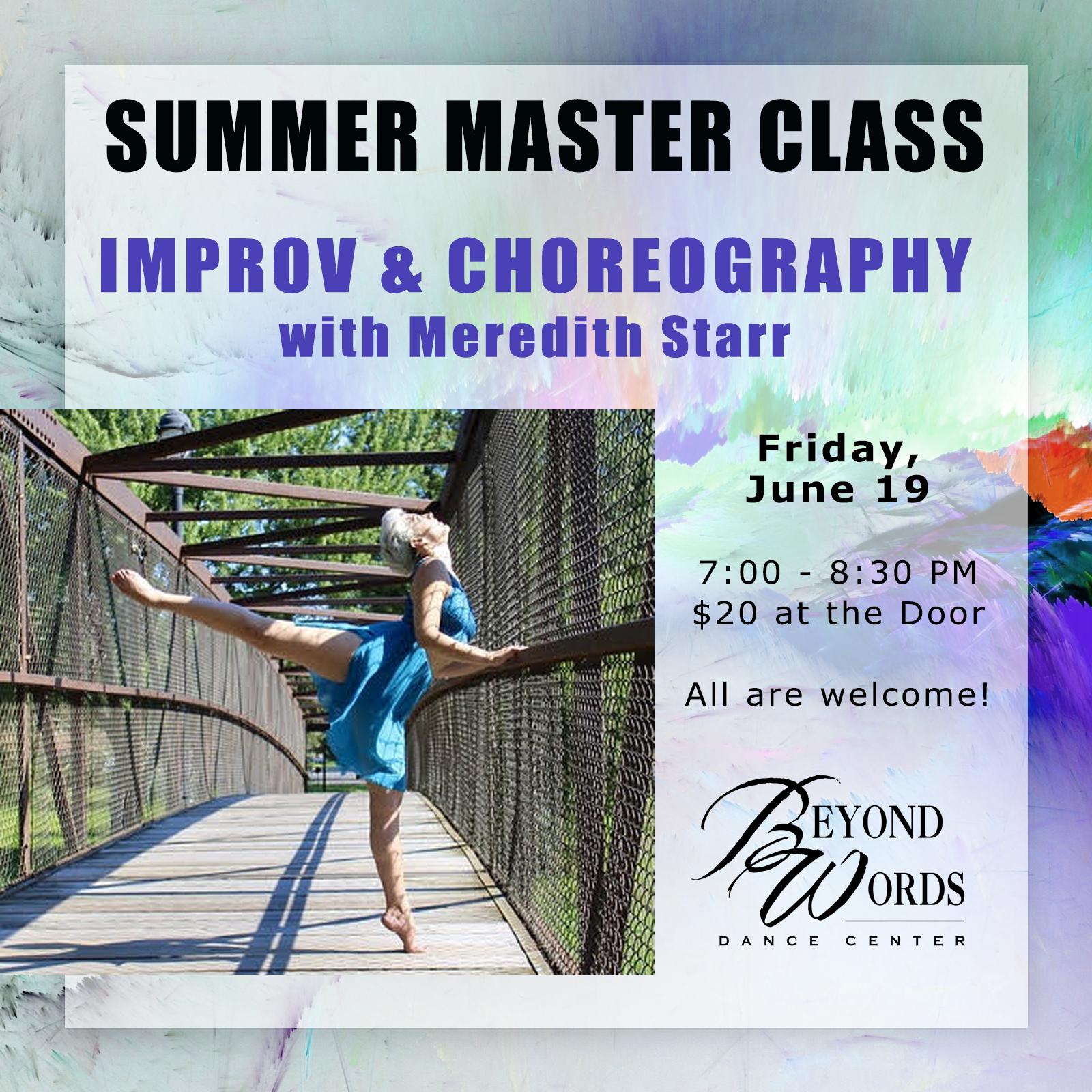 Summer Master Class - Partnering