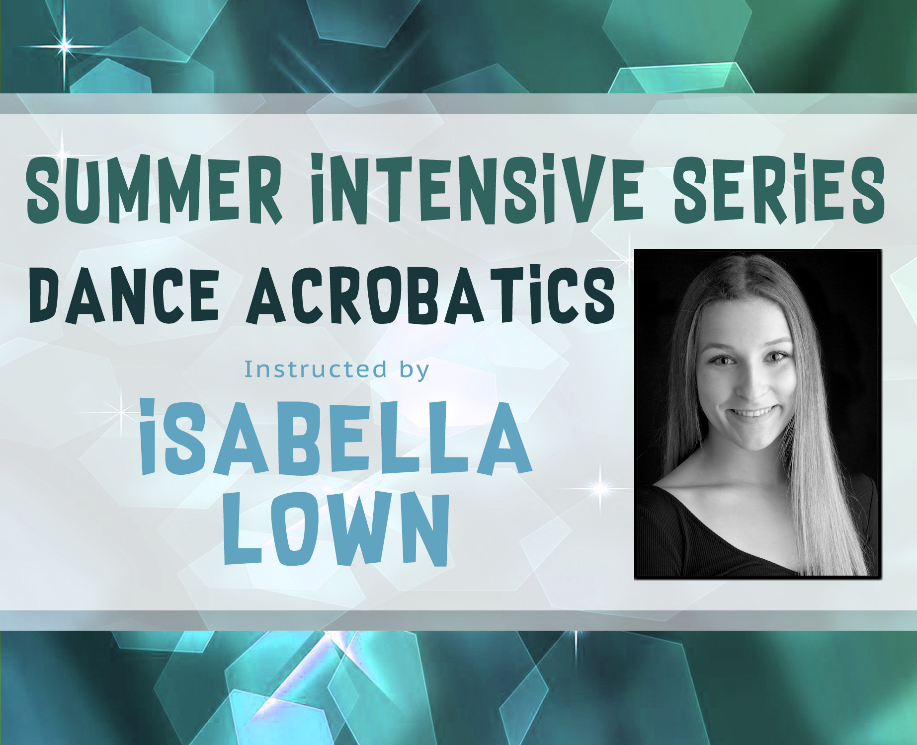 Dance Acro Intensive Site Banner