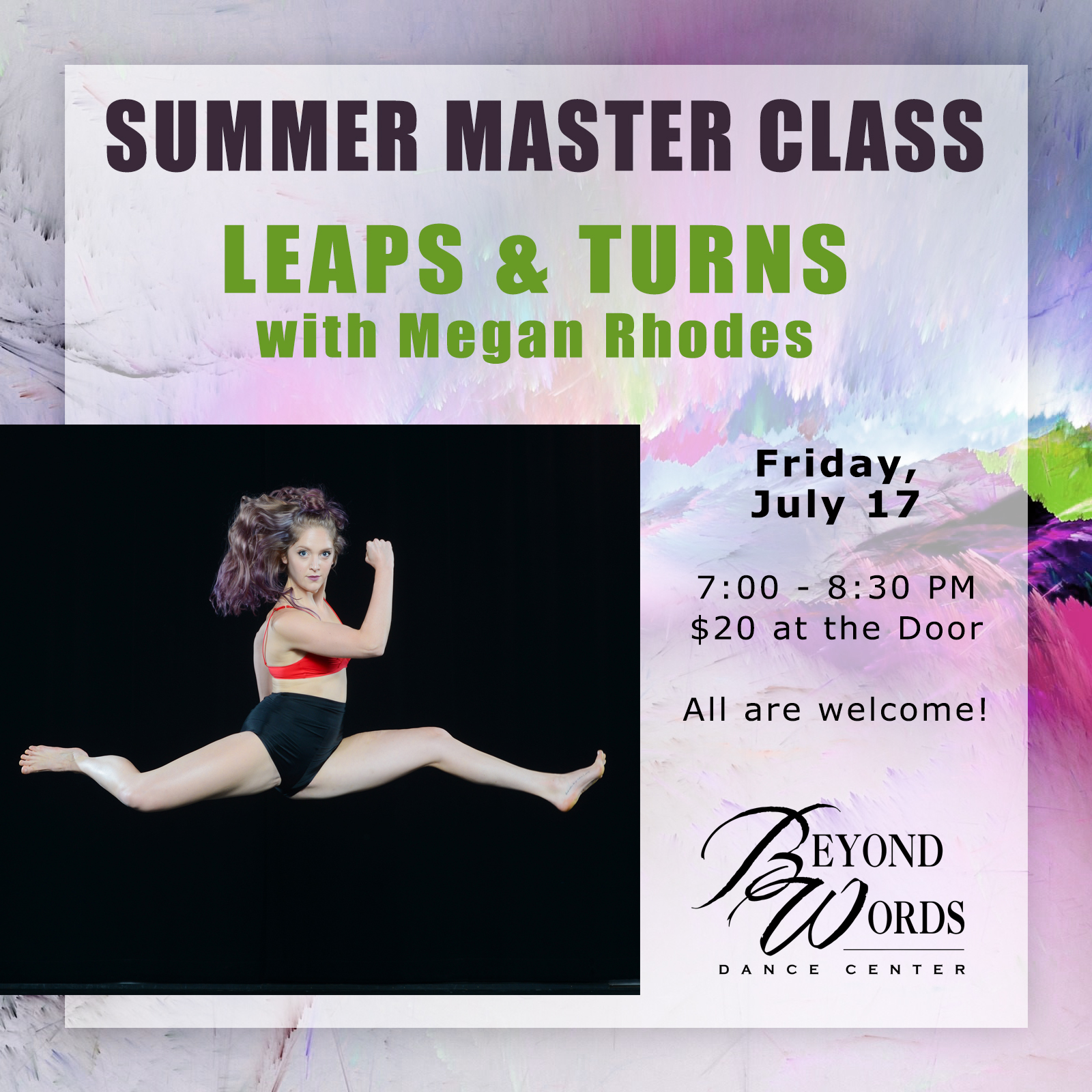 Summer Master Class - Leaps & Turns