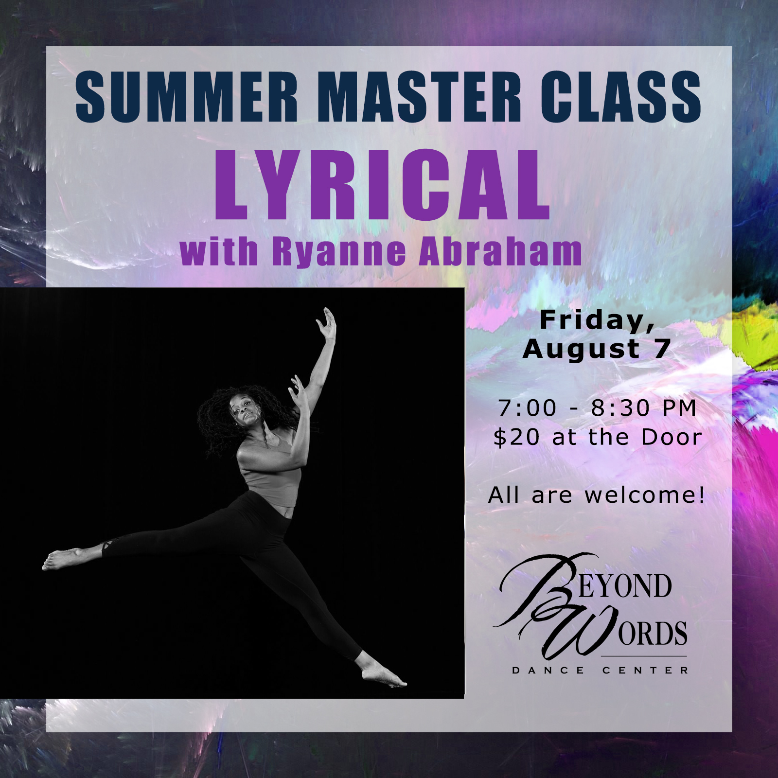 Summer Master Class - Lyrical