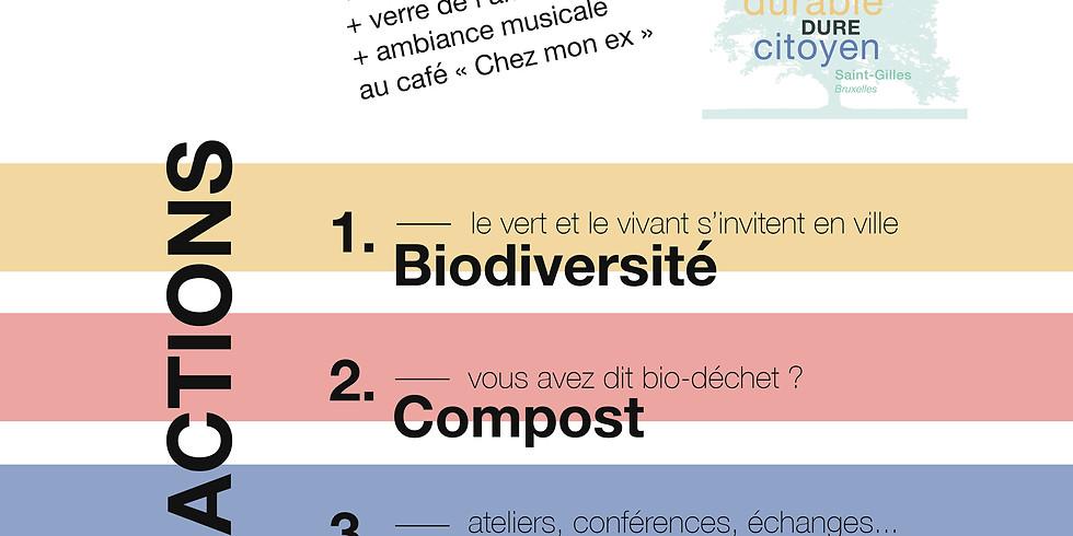 """Rencontre & Présentation / Quartier durable citoyen """"Le Vert-Dure"""""""