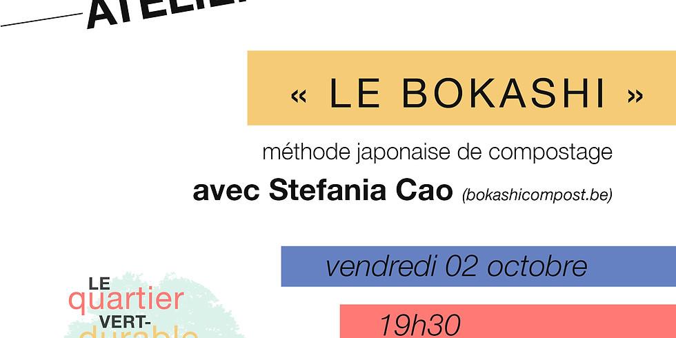 Atelier-conférence : Bokashi (compostage japonais)