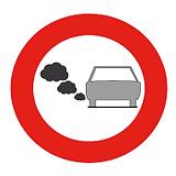 LEZ Road Sign