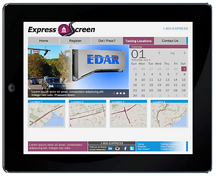 Generic Express Secreen iPad Screen.png