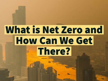 What is Net Zero and How Can We Get There?