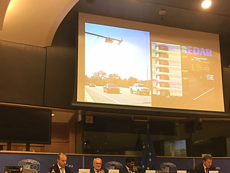 HEAT Presented EDAR to European Parliament on September 28,2017